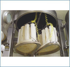 Filter Bag at Expansion Chamber
