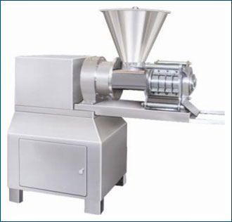 Single Screw Axial Extruder with Side Discharge