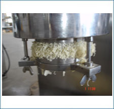 Extruding for Basket Extruder
